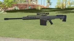 Heavy Sniper GTA V (LSPD) V3 para GTA San Andreas
