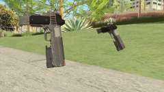 Heavy Pistol GTA V (Platinum) Flashlight V2 para GTA San Andreas