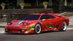 1995 Lamborghini Diablo SV PJ4 para GTA 4