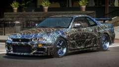 Nissan Skyline R34 LT PJ5 para GTA 4