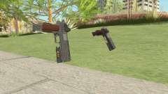 Heavy Pistol GTA V (Luxury) Flashlight V2 para GTA San Andreas