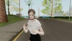Claire Casual (Mini Skirt) para GTA San Andreas