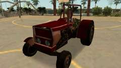 Stanley Trator Enferrujado, Com Emblemas E Extras para GTA San Andreas