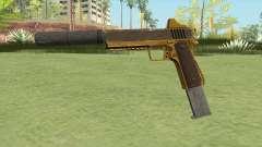 Heavy Pistol GTA V (Gold) Suppressor V2 para GTA San Andreas