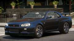 Nissan Skyline R34 GT-R V1.1 para GTA 4