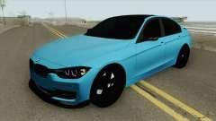 BMW M3 F30 320d para GTA San Andreas
