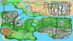 Remasterizado HQ Radar por Longarina para GTA San Andreas