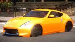 Nissan 370Z Edit para GTA 4