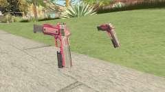 Heavy Pistol GTA V (Pink) Flashlight V2 para GTA San Andreas