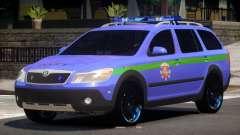 Skoda Octavia Scout Police V1.0 para GTA 4