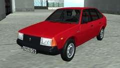 Moskvich 2141 Vermelho
