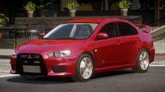 Mitsubishi Lancer Evolution X ST para GTA 4