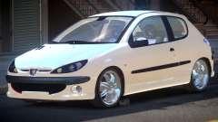Peugeot 206 1.6i para GTA 4