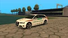 Audi RS4 NAV para GTA San Andreas