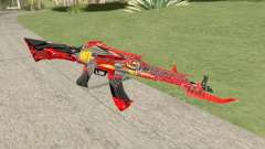 AK-47 (Unicorn Fire) para GTA San Andreas