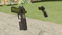 Heavy Pistol GTA V (Green) Flashlight V1 para GTA San Andreas