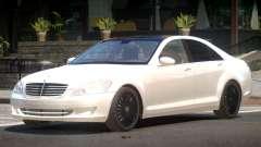 Mercedes Benz W221 Edit para GTA 4