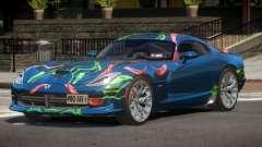 Dodge Viper GTS Edit PJ4 para GTA 4