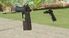 Heavy Pistol GTA V (LSPD) Flashlight V2 para GTA San Andreas