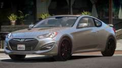 Hyundai Genesis RS PJ1 para GTA 4