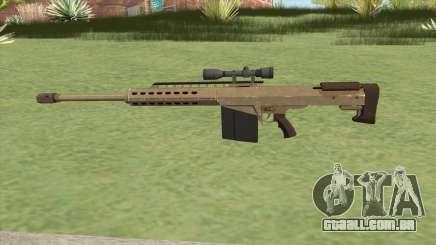 Heavy Sniper GTA V (Army) V3 para GTA San Andreas