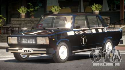 VAZ 2105 Taxi V1.0 para GTA 4