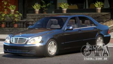 Mercedes Benz S600 Limited Edition para GTA 4
