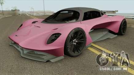 Aston Martin Valhalla 2020 para GTA San Andreas