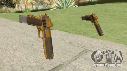 Heavy Pistol GTA V (Gold) Base V2 para GTA San Andreas