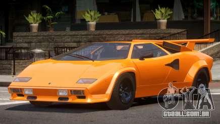 1986 Lambo Countach para GTA 4