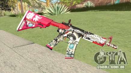 M4A1 (Graffiti) para GTA San Andreas