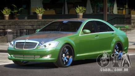 Mercedes Benz S500 Tuned para GTA 4