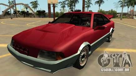 Insípido Cadrona Com Emblemas e Extras para GTA San Andreas