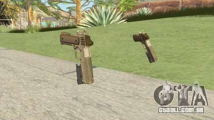 Heavy Pistol GTA V (Army) Flashlight V1 para GTA San Andreas