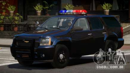 Chevrolet Tahoe Spec para GTA 4