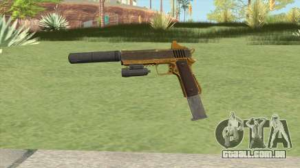 Heavy Pistol GTA V (Gold) Full Attachments para GTA San Andreas