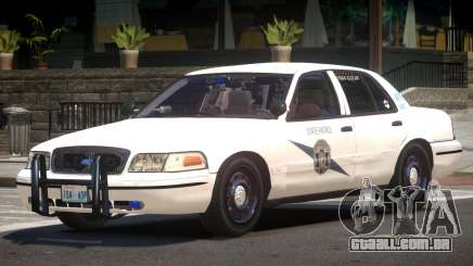 Ford Crown Victoria FS Police V1.2 para GTA 4