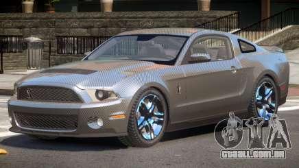 Shelby GT500 V8 PJ1 para GTA 4