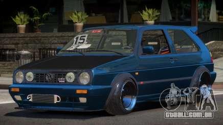 Volkswagen Golf Racing Tuning para GTA 4