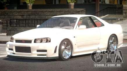 Nissan Skyline R34 Edit para GTA 4