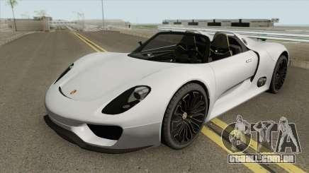 Porsche 918 Spyder (Concept) para GTA San Andreas