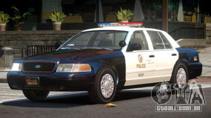 Ford Crown Victoria ST Police para GTA 4