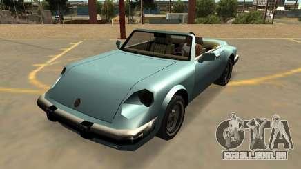 Pfister Cometa Com Emblemas E Extras para GTA San Andreas