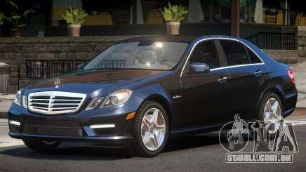 Mercedes Benz E63 Edit para GTA 4