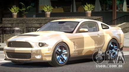 Shelby GT500 V8 PJ2 para GTA 4