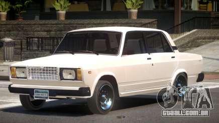 VAZ 2107 Stock V1.3 para GTA 4