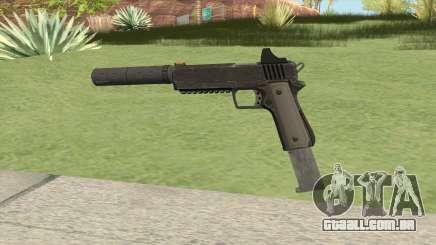 Heavy Pistol GTA V (NG Black) Suppressor V2 para GTA San Andreas