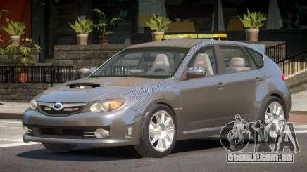 Subaru Impreza WRX Police V1.0 para GTA 4