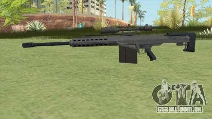 Heavy Sniper GTA V (LSPD) V1 para GTA San Andreas
