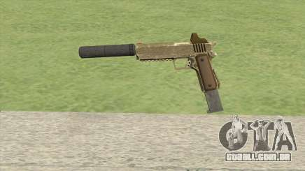Heavy Pistol GTA V (Army) Suppressor V2 para GTA San Andreas